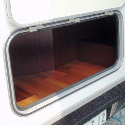 大型外部収納庫(2段ベッド下)