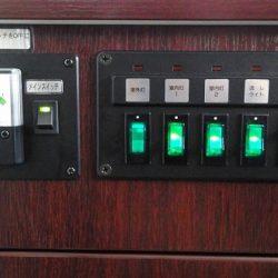 メインスイッチ&電圧計